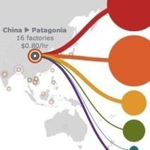 Outsourcing textielproductie: maar waar komt het vandaan? Interactive kaart. | aardrijkskunde | Scoop.it