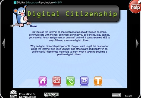 Digital Citizenship k-6 | Technology in K-12 Education | Scoop.it