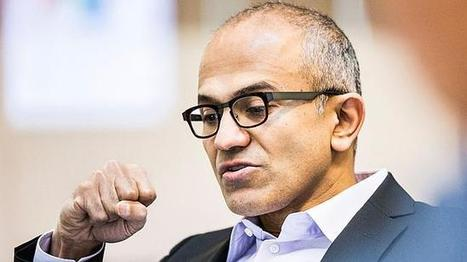 Microsoft names Nadella CEO, Gates steps down as chairman | Desi Notes | Scoop.it