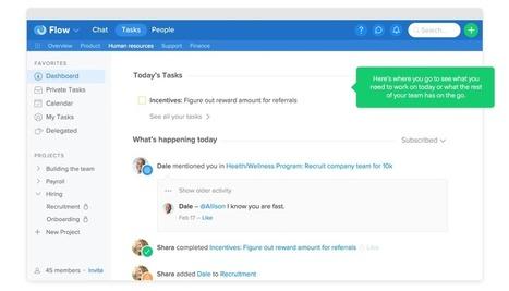 Flow. Outil de tchat et de gestion de tâches collaboratif - Les Outils Collaboratifs | Les outils du Web 2.0 | Scoop.it
