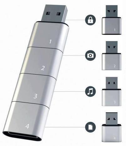 Twitter / Invention_Pics: Amoeba Modular USB drive ... | facts | Scoop.it