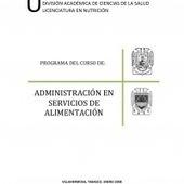 ADMINISTRACION EN SERVICIOS DE ALIMENTACION.260808 | Educación en gestión servicios alimentación | Scoop.it