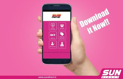 Sun Direct Mobile App | Dish TV Service Providers in India | Scoop.it