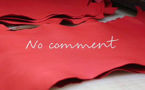 [VIDÉO] : No comment, dans les ateliers Hermès | cuir et luxe | Scoop.it