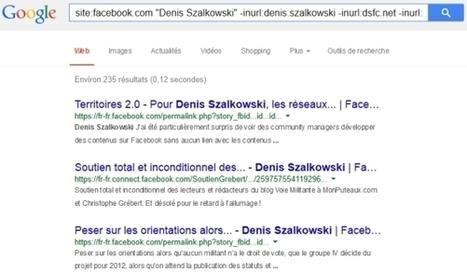 Qui parle de vous sur Facebook ? | Informatique | Scoop.it