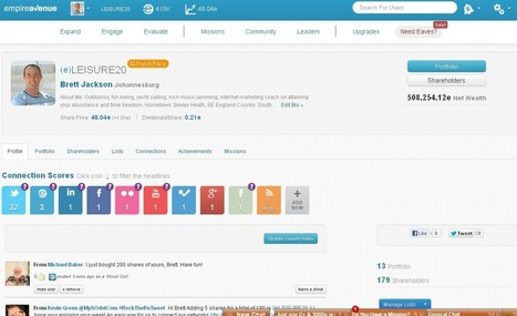 Empire Avenue. Social Media Rocket Fuel | | Linked In Social | Scoop.it