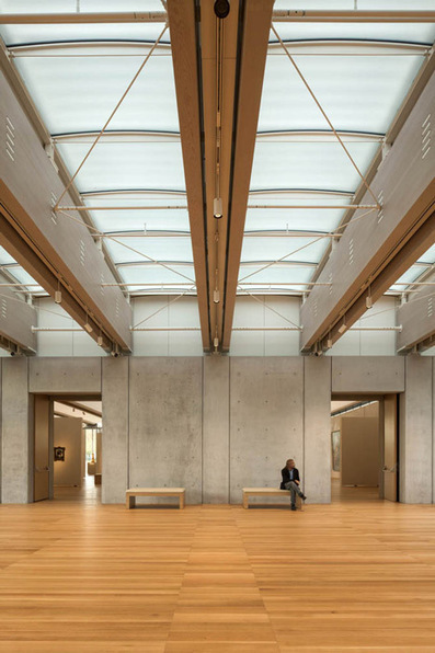 Kimbell Art Museum by Renzo Piano | architecture | Dezeen | The Architecture of the City | Scoop.it