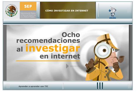 8 recomendaciones al investigar en Internet #SEP #México #TIC #investigación #recomiendo | Pedalogica: educación y TIC | Scoop.it