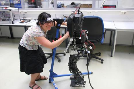 De enige vrouwelijke techneut van Tech United - Eindhovens Dagblad | Robotica | Scoop.it