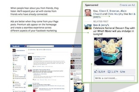 Facebook's New, Entirely Social Ads Will Recreate Marketing   Fast Company   Everything Facebook   Scoop.it