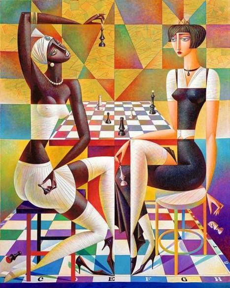 20 Vibrant Cubist Art works and Illustrations by Georgy Kurasov | Visual Inspiration | Scoop.it