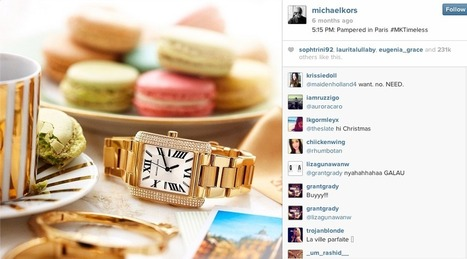 How Levi's, Michael Kors, and General Electric Are Using Instagram for Content Marketing   Social Media   Scoop.it