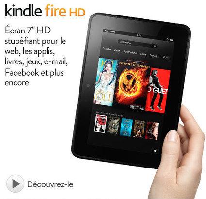 Amazon offre 30 euros sur le Kindle Fire HD | Les bons Plans de tablettes Android | Scoop.it