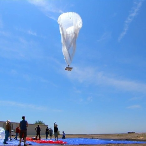 Google Launches Balloons to Bring the Internet to Remote Regions | Back Chat | Scoop.it