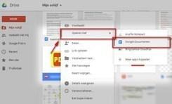 Eenvoudige conversie van pdf's naar Google Documenten | Technologie in het onderwijs | Scoop.it