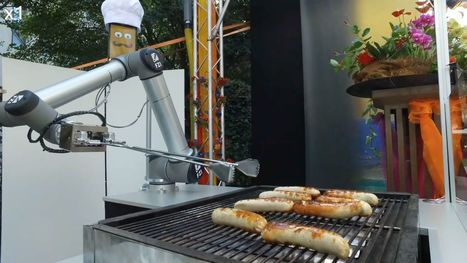 Watch: A German robot grills up sausages with ruthless efficiency | Angelika's German Magazine | Scoop.it