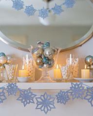 Snowflake Decorations - Martha Stewart Home & Garden   Celebrations!   Scoop.it