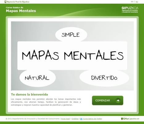 Curso básico de Mapas Mentales | Sinapsisele 3.0 | Scoop.it