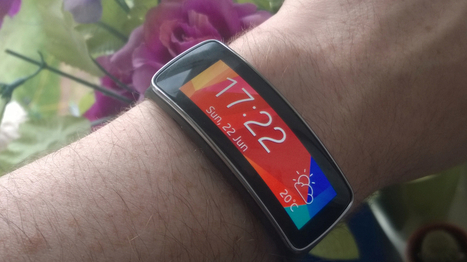 Samsung Gear Fit Review: A Combined Fitness Band And Stylish Smartwatch ... - Forbes | Fitness and Weight loss | Scoop.it