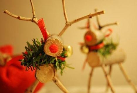 Stick Reindeer | Craftspo | Scoop.it