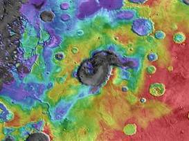 Ancient supervolcanoes on Mars? Claims set off a scientific rumble - NBCNews.com | archaeology | Scoop.it