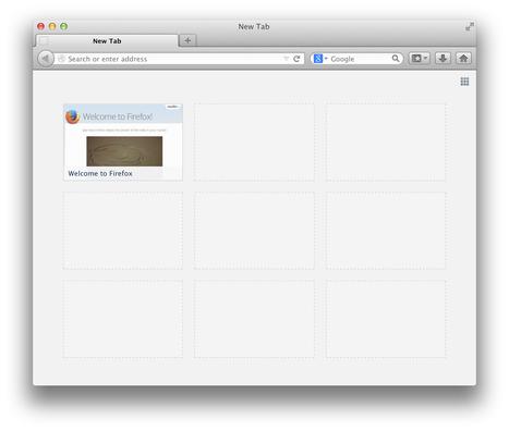 Mozilla affichera des pubs dans l'interface de «Nouvel Onglet» | Les tendances du web | Scoop.it