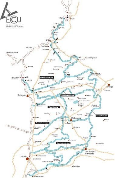 El Canal d'Urgell | Ingeniería del Agua | Scoop.it