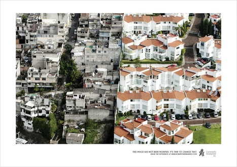 Aerial housing photographs show stark division between rich and poor in Mexico | Social Environments | Scoop.it