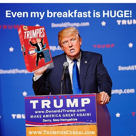 Donald Trump cereal - Trumpies Cereal | ferelrew | Scoop.it