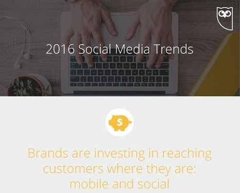 Social Media Trends in 2016 - Visual Contenting | Visual Marketing & Social Media | Scoop.it