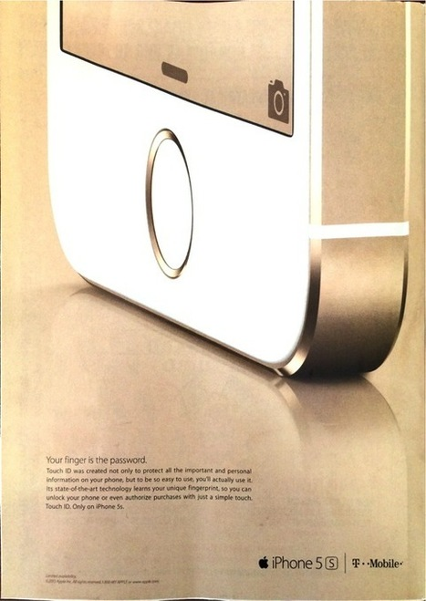 Apple begins marketing the iPhone 5s in magazines - tuaw.com | marketing | Scoop.it