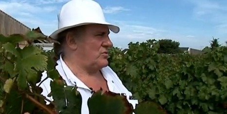 Gérard Depardieu ce vigneron! | Culturebox | Wine and Co | Scoop.it