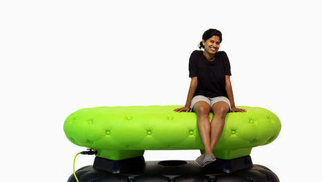 This Bench Looks Life A Sofa, But It's Secretly Collecting Water | GMOs & FOOD, WATER & SOIL MATTERS | Scoop.it