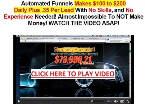 ULTIMATE FUNNEL NETWORK - Get Paid $0.35/Leads Worldwide + $100/Sale (Add This To You Sale Funnel!) | ultimate funnel network | Scoop.it