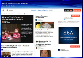 Small Businesses of America News : Monday December 24,2012 | Founder : Small Businesses of America | Scoop.it