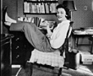 Of Course Hemingway Read the Paper in the Nude: Photos of Authors at Home - The Atlantic | Deborah | Scoop.it