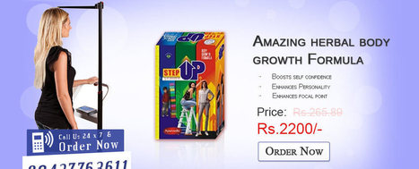 Step Up Height Increaser India, Superior Body Growth Remedy   stepupheightincreaser   Scoop.it