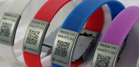 Avoir son dossier médical sur soi, c'est possible avec ce bracelet connecté | Santé Industrie Pharmaceutique | Scoop.it