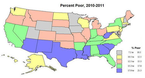 The Emerging Geography of Inequality | Newgeography.com | Social Studies Education | Scoop.it