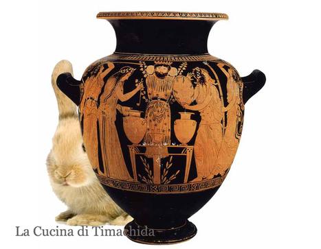 Il Coniglio rodiense a riposo per Afrodite - Cunigghiu a' stimpirata - Coniglio alla stemperata | La Cucina di Timachida | Scoop.it