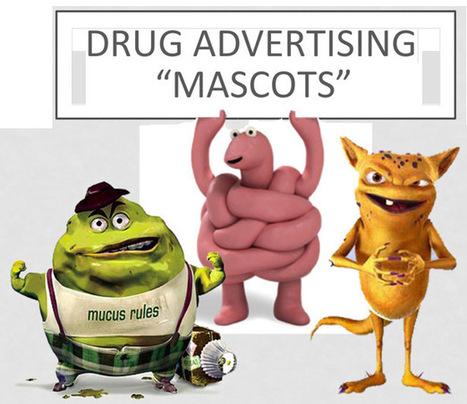 Cute & Creepy DTC Drug Ad Mascots: FDA Want...