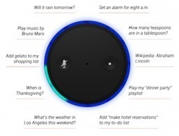 How the Amazon Echo Could Be a Classroom Assistant - Instructional Tech Talk | Edtech PK-12 | Scoop.it