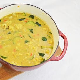 Weekly Vegan Menu: Creamy Barley and Split Pea Soup | My Vegan recipes | Scoop.it