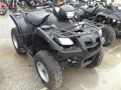 Salvage 2007 black Suzuki Lt-A500F with VIN 5SAAM43AX77105766 on auction | VEHICLES on Auction | Scoop.it