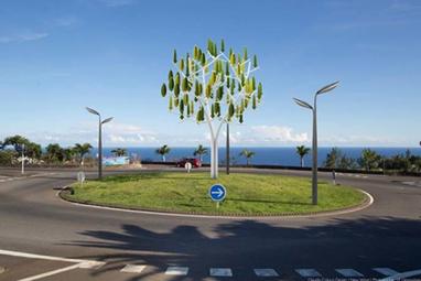 L'arbre à vent, l'invention française qui amène l'éolien dans les villes | Innovation dans l'Immobilier, le BTP, la Ville, le Cadre de vie, l'Environnement... | Scoop.it