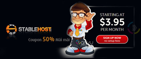 Stablehost - Hosting chất lượng mã giảm giá Stablehost 50% | tonghop2 | Scoop.it