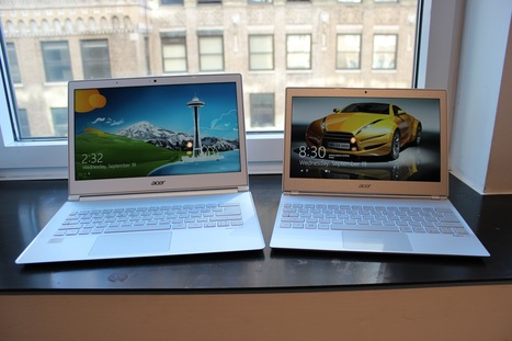 Acer's Aspire S7 touchscreen Ultrabooks.. first look | Mobile IT | Scoop.it