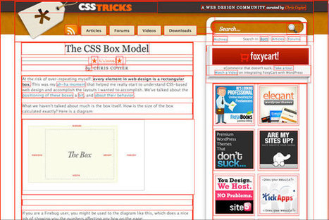 The CSS Box Model | CSS-Tricks | Blogging and Social Media | Scoop.it