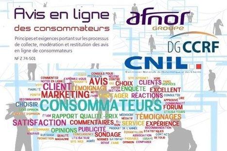 Norme AFNOR NF Z 74501 sur les avis en ligne des consommateurs | Tourisme et e-tourisme | Scoop.it