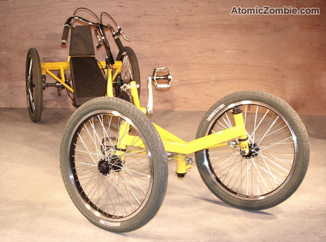 AtomicZombie - DIY Recumbent Bike, Trike, and Chopper Plans | Bikes and welding projects | Scoop.it